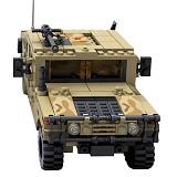 KAZI GBL H1 Military [98403] - Building Set Transportation